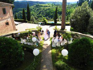 Wedding Villa of Borgo Bucciano, Tuscany