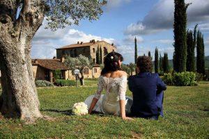Bruiloft in agriturismo in Toscane