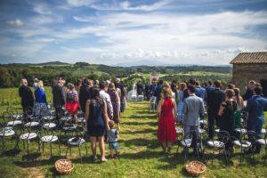 Civil ceremony outdoor