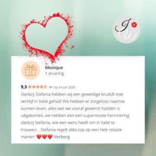 Bedankt M&R voor het delen van de mooie ervaring. #ervaringmetitalywedding #mooieervaring #trouwenintoscane #mooieherinnering #relaxwedding #italyweddingamsterdam