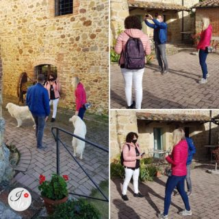 Site inspection with I&H... first sketch for the ceremony. Walking around in the small borgo with a stunning view. Talking about wedding reception and decoration. #italyweddingamsterdam #italywedding #italyweddingplanner #weddingplanner #weddinginspiration #weddinginitaly #borghitalia #borghiitaliani #ilovemyjob